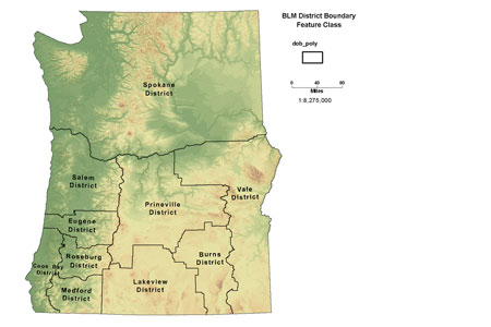 Click to view BLM OR District Boundary Polygon map image