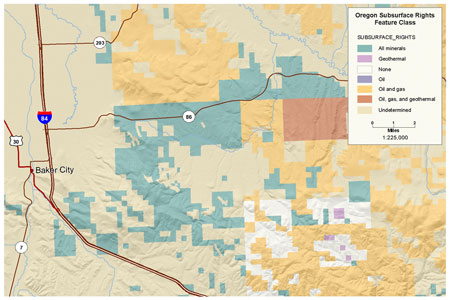Click to view BLM OR Subsurface Rights Polygon map image