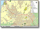 PCGP Coos and Douglas Counties Map