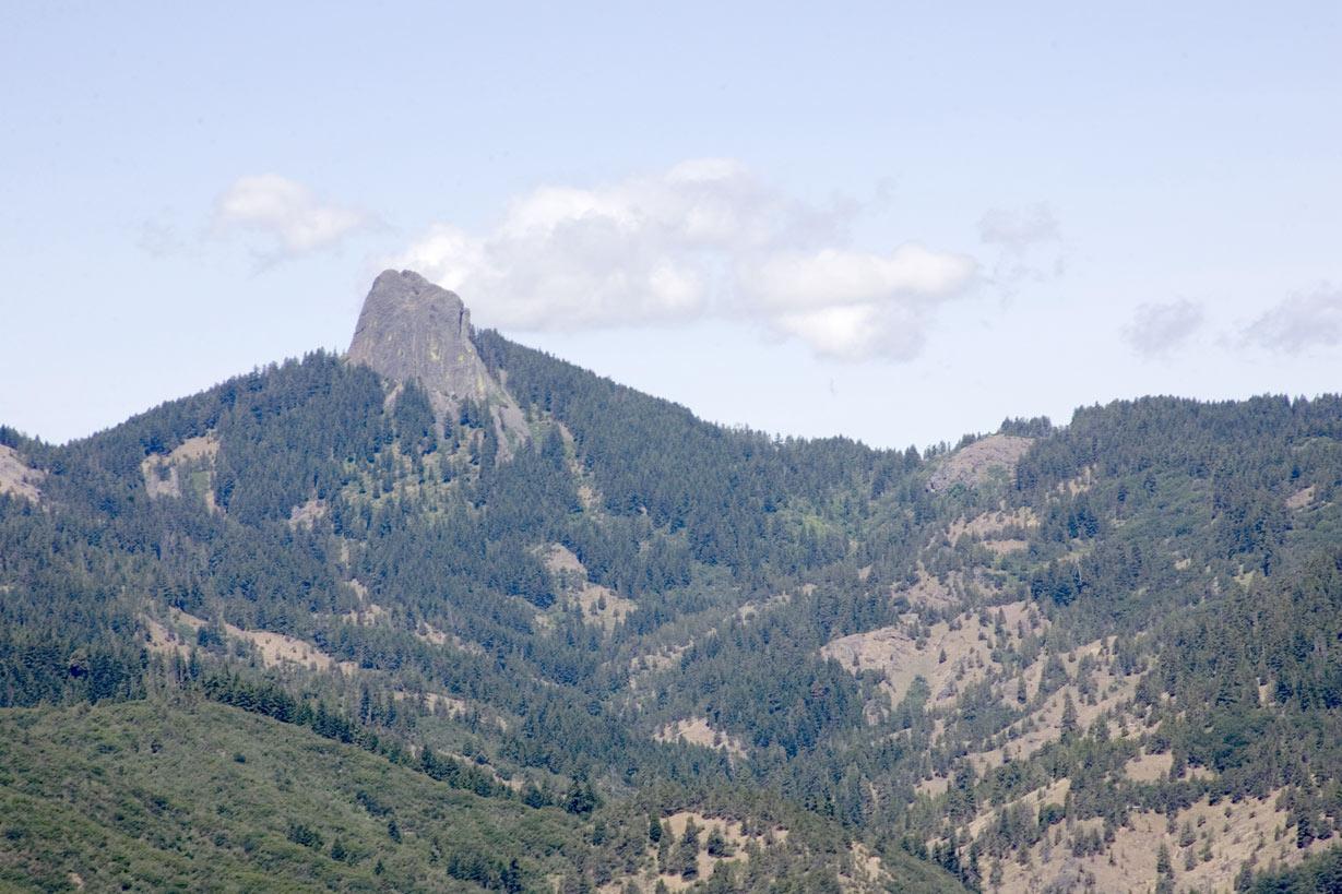 Pilot Rock And Scotch Creek