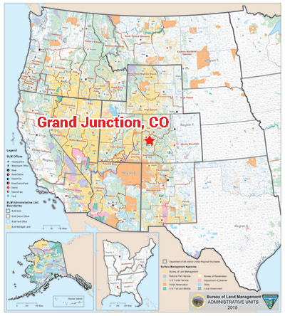 Headquarters Move West Bureau Of Land Management