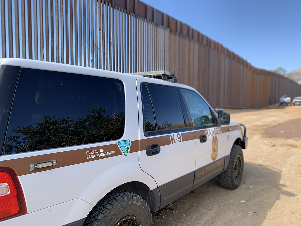 Secretary Of The Interior Transfers Jurisdiction Of Five Parcels Of Land To The Department Of The Army To Secure The Southwest Border Bureau Of Land Management