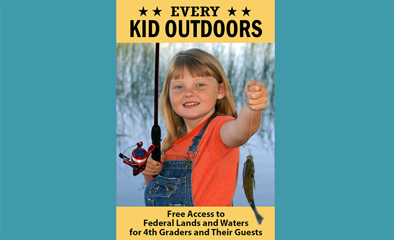 Every Kid Outdoors brochure cover