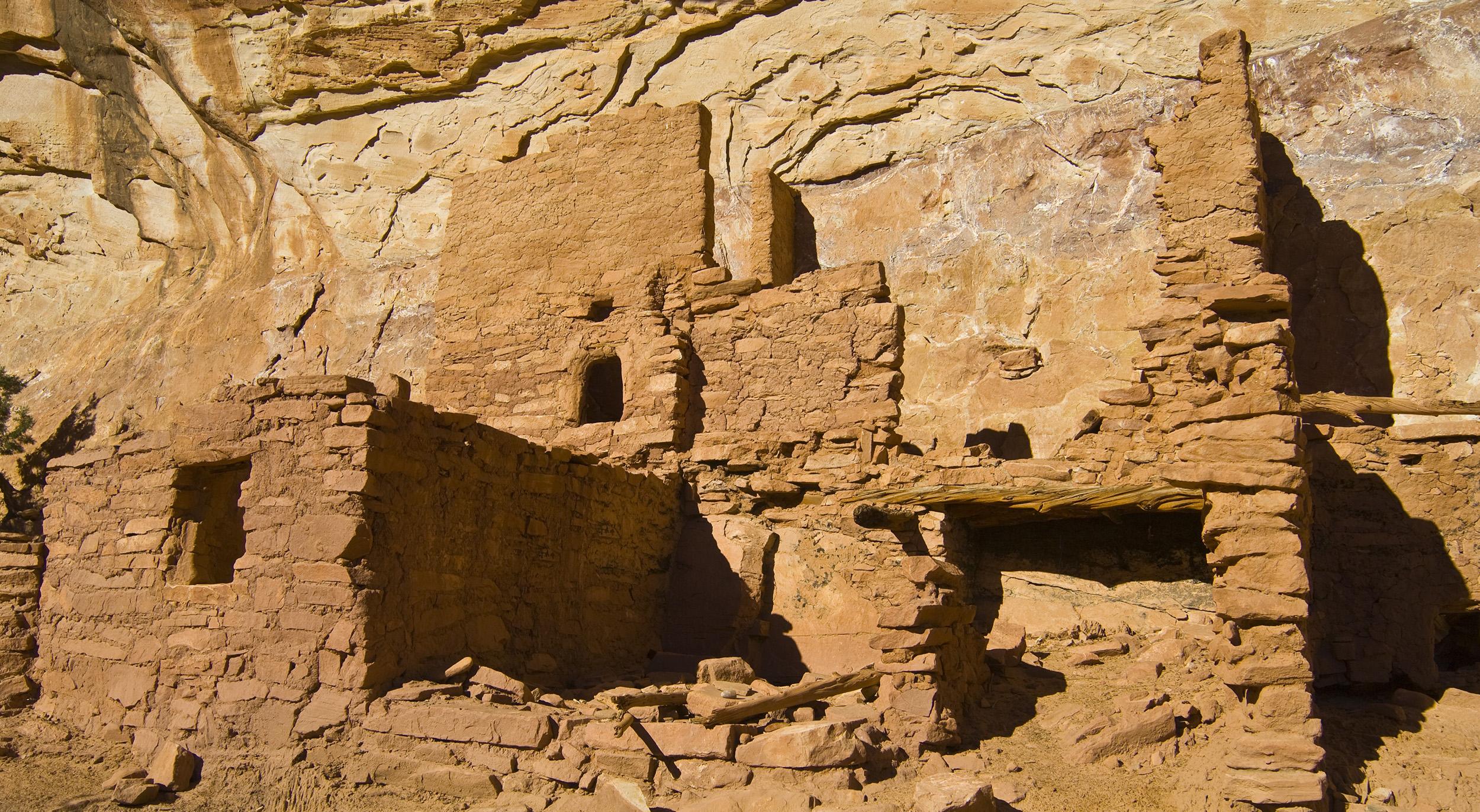 Pueblo home in Grand Gulch, southern Utah