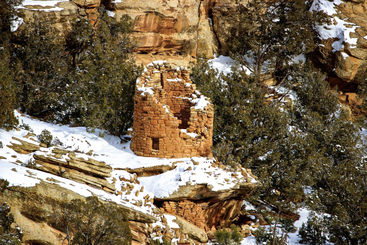 Canyon of the Ancients National Monument in Colorado, a BLM Artist in Residence Site. BLM photo