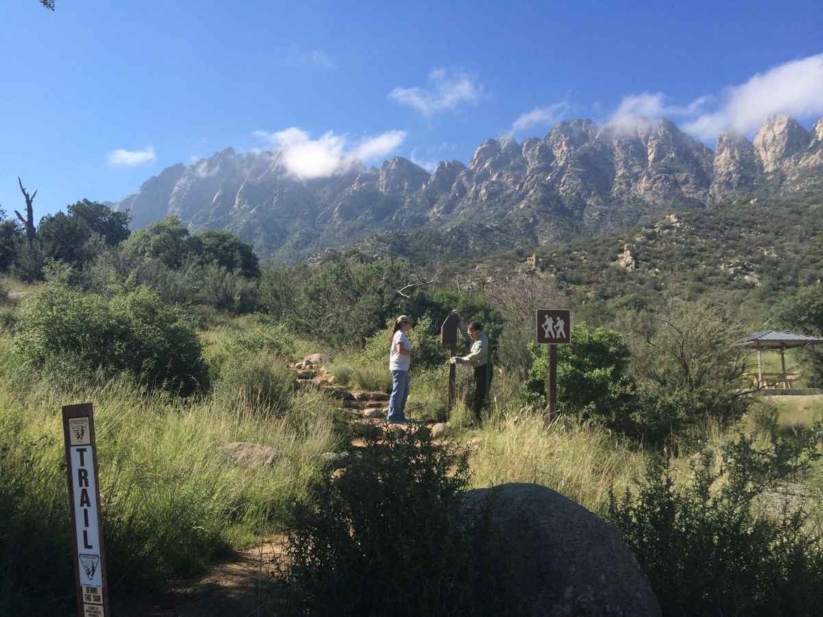 National Public Lands Day event at the Organ Mountains National Monument in New Mexico, BLM photo