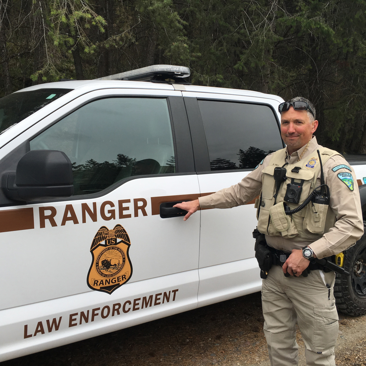 Kelly Cole, BLM Ranger