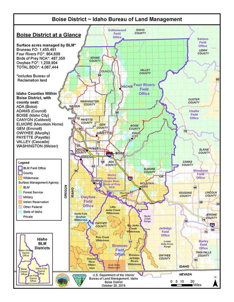 Boise District Office | Bureau of Land Management