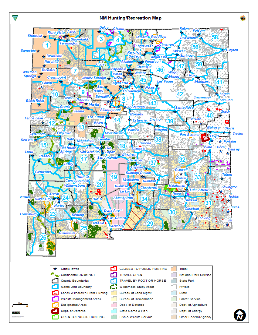 Hunting Unit Maps | BUREAU OF LAND MANAGEMENT