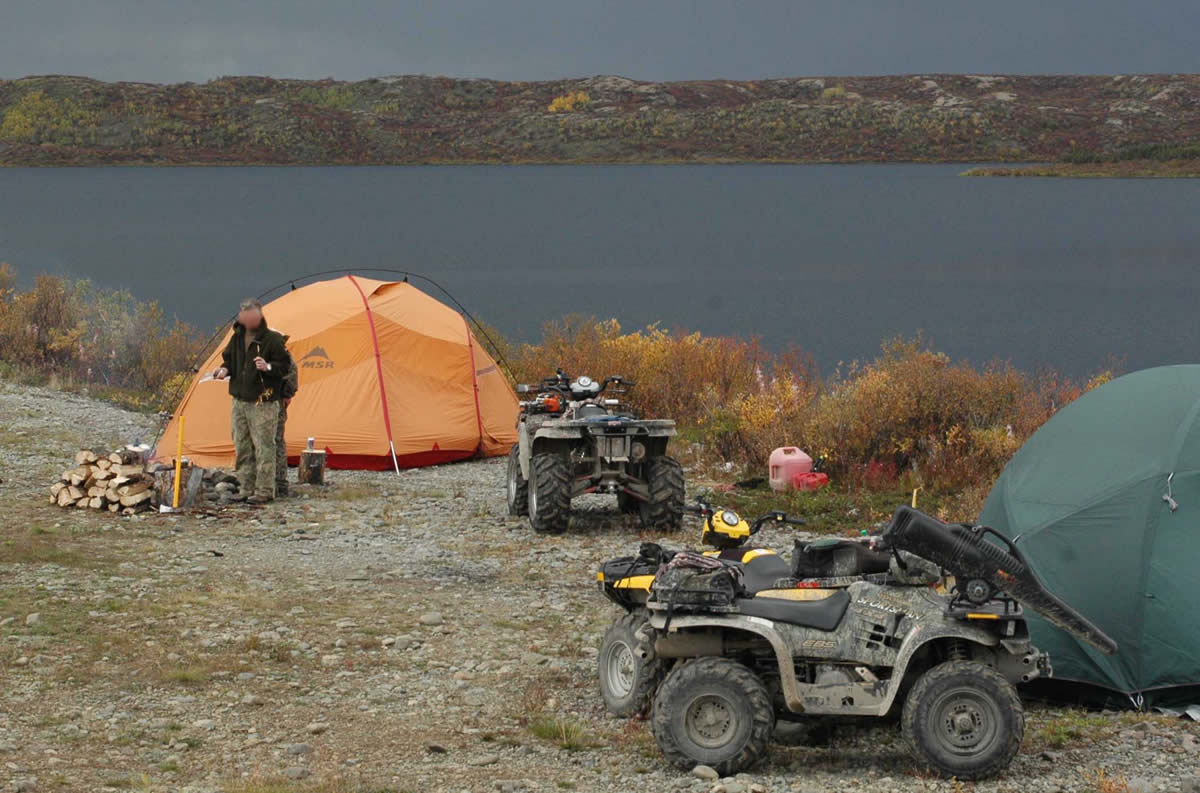 Hunting Camp in the Delta Wild and Scenic River Corridor