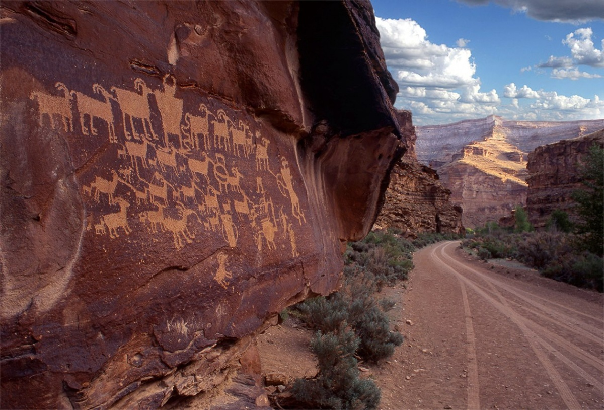 A landscape view of Nine Mile Canyon ACEC in Utah. BLM photo