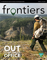 Alaska Frontiers cover photo