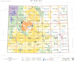 Wyoming 1 100k Index Map Bureau Of Land Management