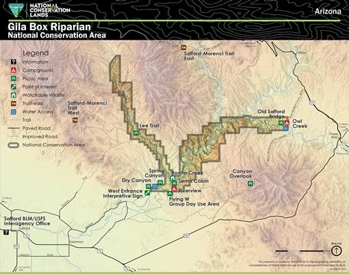Media: Public Room: Arizona: Gila Box Riparian National Conservation ...