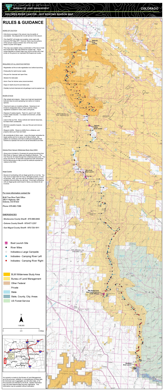 Colorado Dolores River | BUREAU OF LAND MANAGEMENT