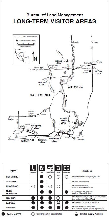 Long-Term Visitor Area - MAP | BUREAU OF LAND MANAGEMENT
