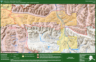 Maps Geopdf Alaska Blm Alaska Federal Subsistence Game Management Unit 13 Map Of Alaska Range East Bureau Of Land Management