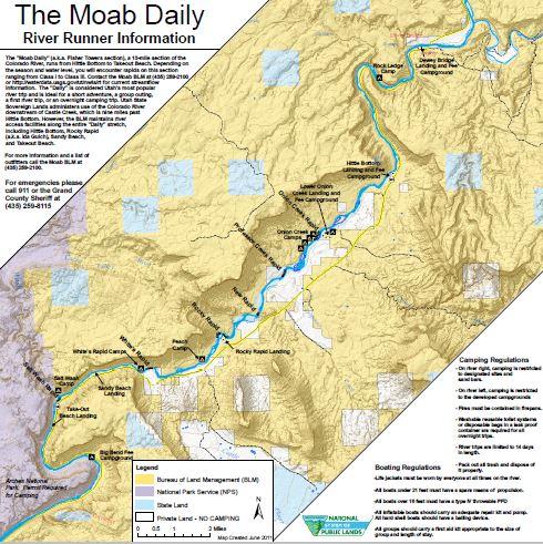 Media: Public Room: Utah: Moab Daily Map | Bureau of Land Management