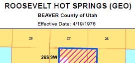 Public Room:Utah:Roosevelt Hot Springs (GEO) Agreement Map | BUREAU ...