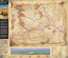 Wyoming Historic Trails Map Bureau Of Land Management