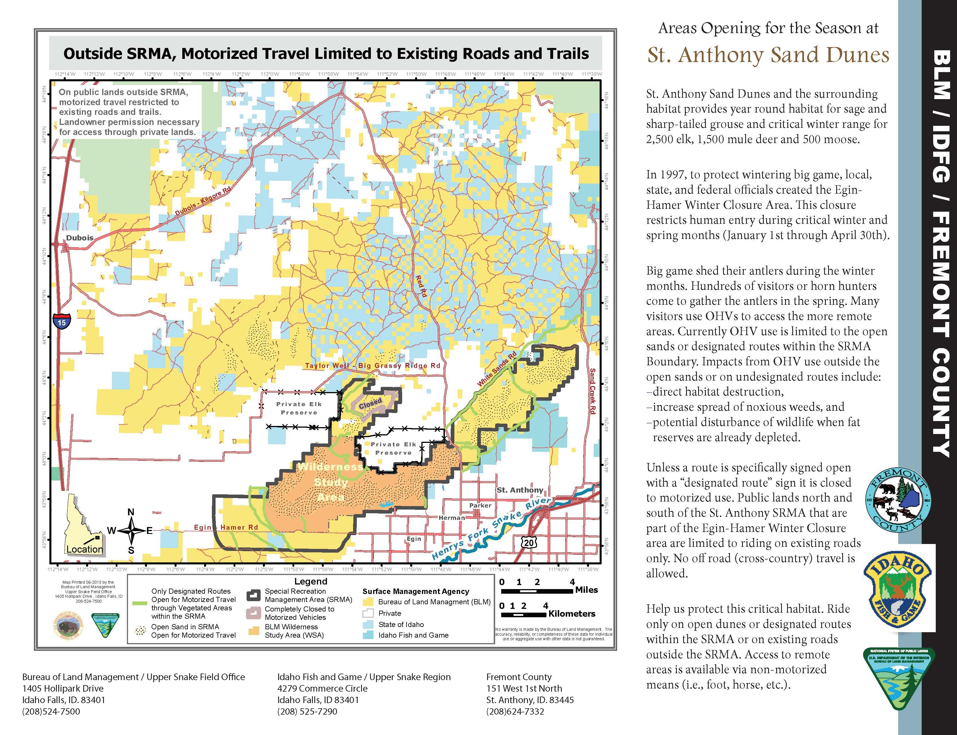 IdahoFallsDistrictOffice BUREAU OF LAND MANAGEMENT