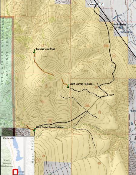 Media Center: Public Room: California: South Warner Wilderness Study on