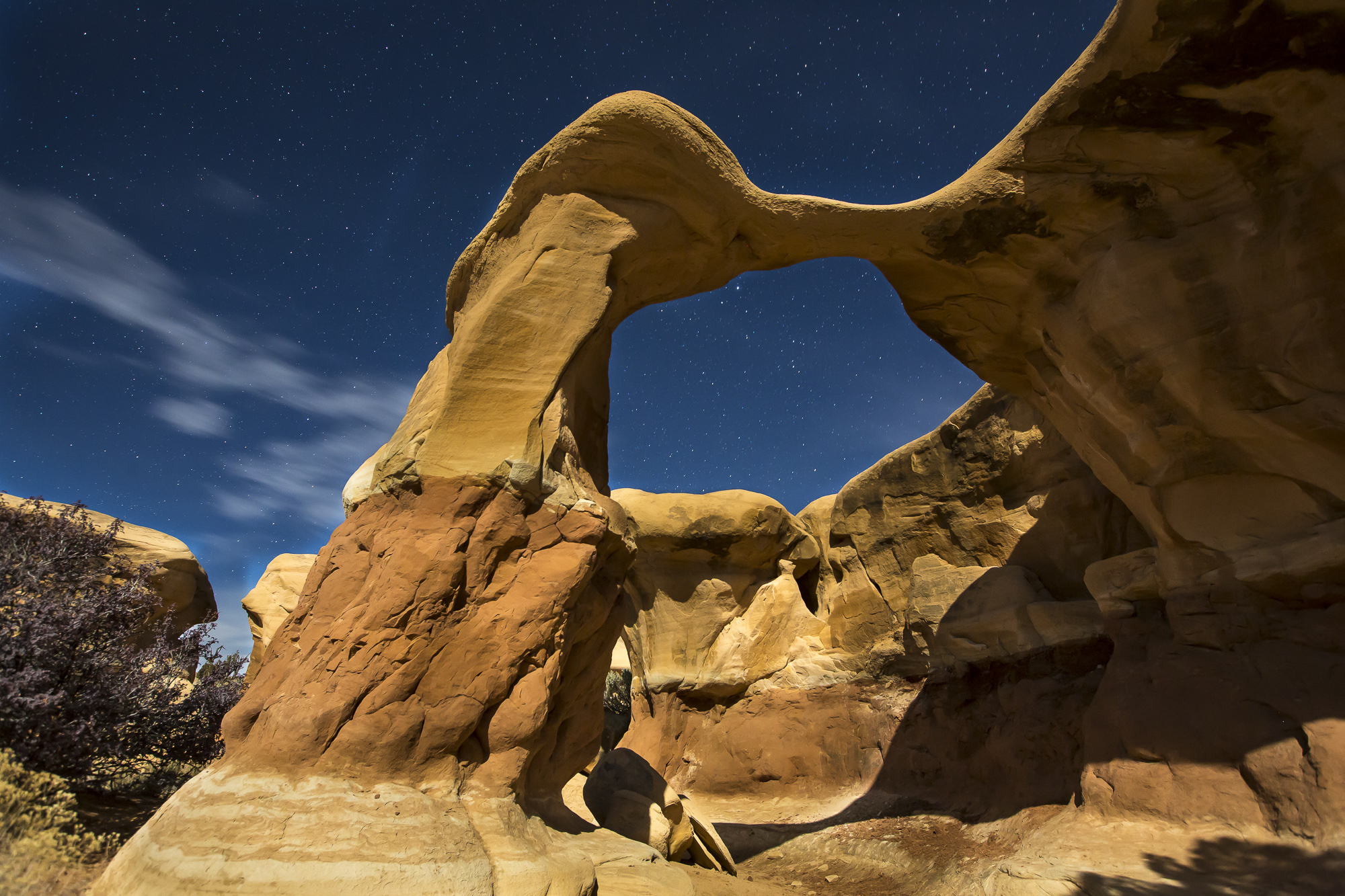 Metate Arch in the Grand Staircase-Escalante National Monument