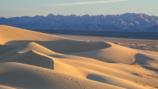 A landscape view of the Mojave Trails National Monument, California, photo by Bob Wick, BLM