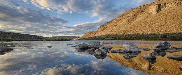 A landscape view of Morley Nelson Snake River National Conservation Area in Idaho. Photo by Bob Wick, BLM.
