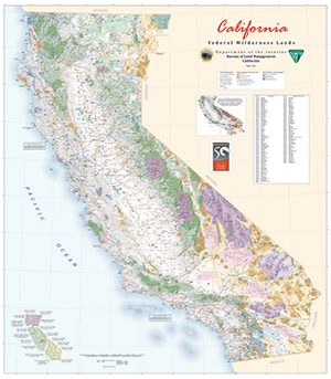 Map Of California Blm Land.California Maps For Sale Bureau Of Land Management