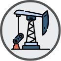 Icon of an oil derrick