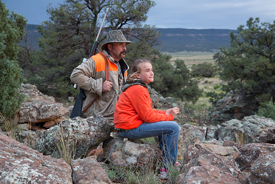 Father and daughter hunting on Federal Lands