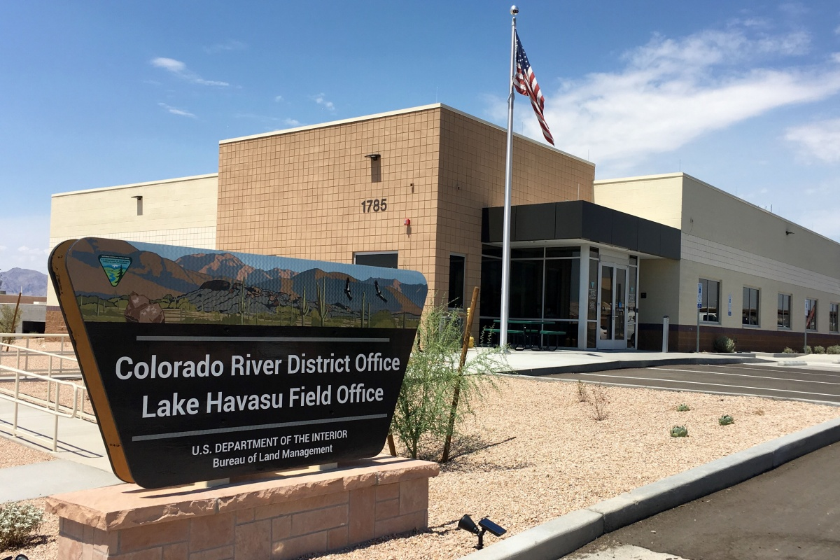 Colorado river district office bureau of land management