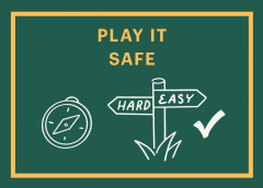 Play it safe graphic