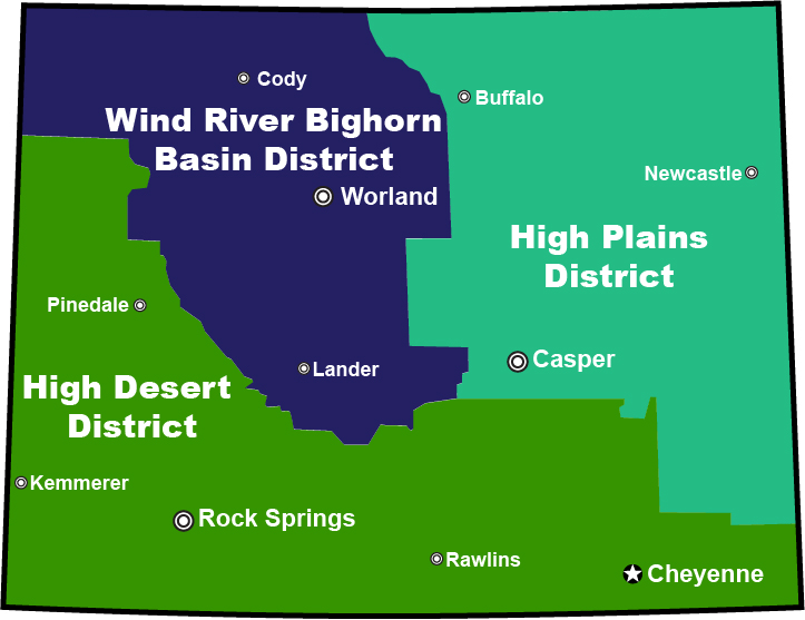 BLM Wyoming District Graphic