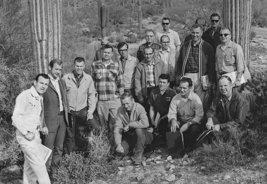 The BLM's first Lands and Minerals Class in the Winter of 1969. BLM photo.