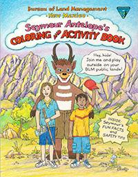 BLM New Mexico Seymour Antelope's Coloring Book