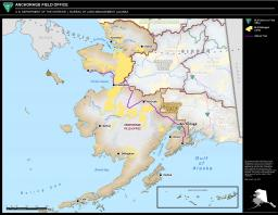 Anchorage Field Office Boundary Map