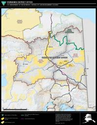 Fairbanks District Office Boundary Map