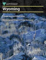 The cover page of the PAPO report, featuring a buck mule deer in sagebrush