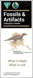 Alaska Fossils and Artifacts Brochure cover