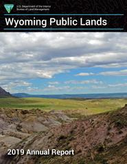 BLM Wyoming 2019 Annual Report