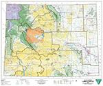 BLM Wyoming Land Status Map