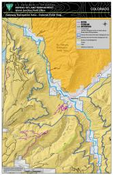Thumbnail image of the Gateway Extensive Recreation Management Area – Dolores Point Map