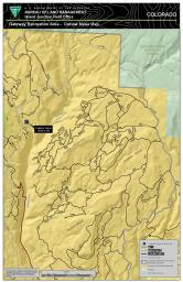 Thumbnail image of the Gateway Extensive Recreation Management Area – Outlaw Map