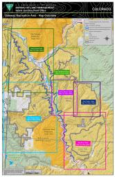 Thumbnail image of the Gateway Extensive Recreation Management Area Overview Map