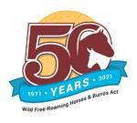 logo commemorating 50th anniversary of WHB act