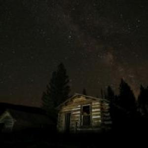 Garnet Ghost Town is located outside of Missoula, Mont.