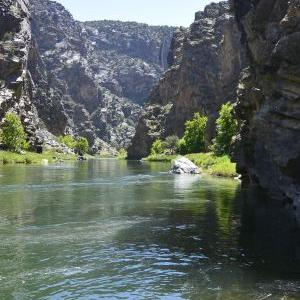 Cutting a breathtaking double canyon through the colorful sandstone formations and ancient black granite of the Gunnison Gorge National Conservation Area, the Gunnison River is known for its exceptional whitewater boating as well as a world-class blue rib