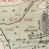 1876 Plat Showing Fort Russell, WY